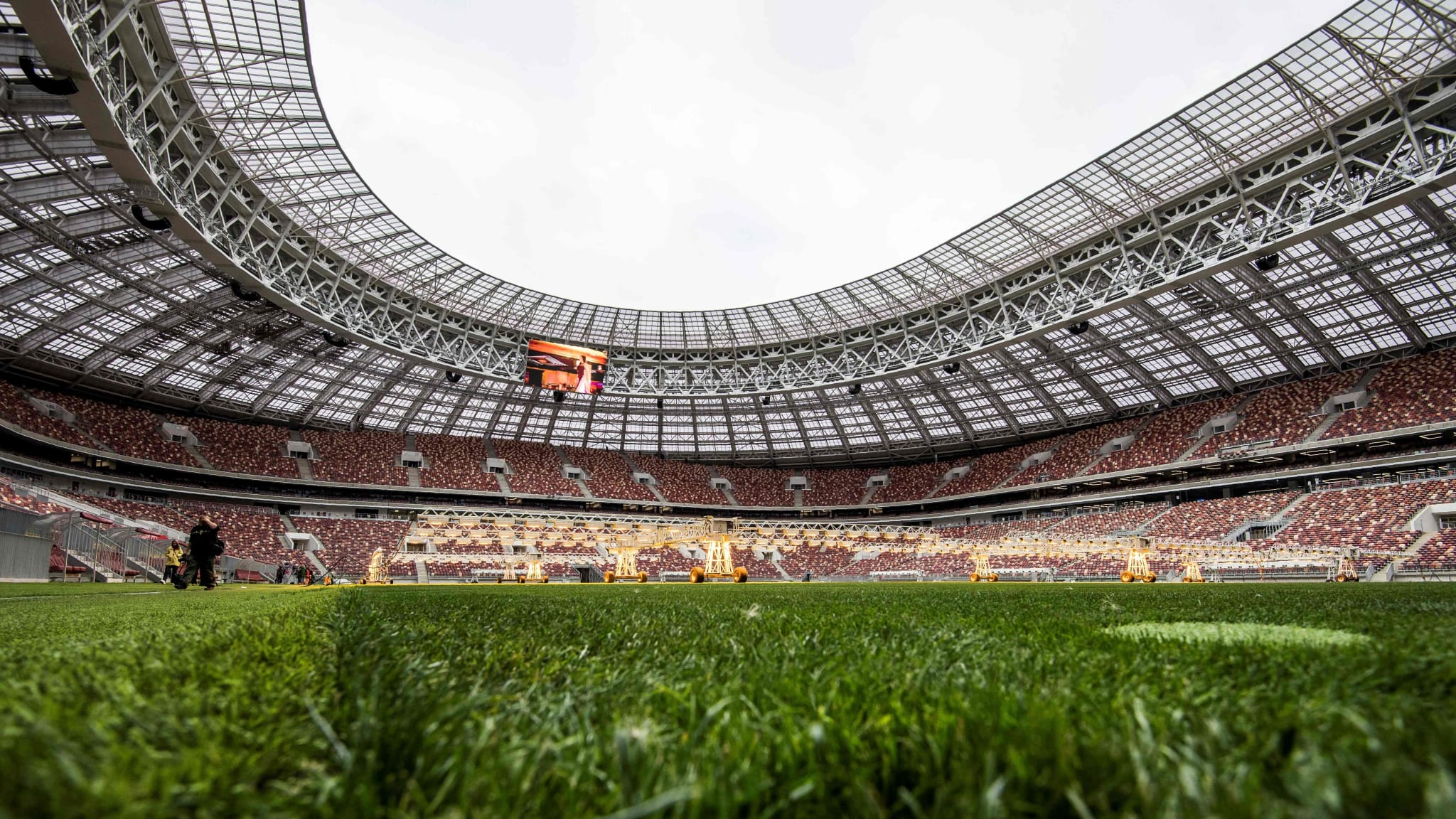 China National Stadium has entered new era of Hybrid turf system