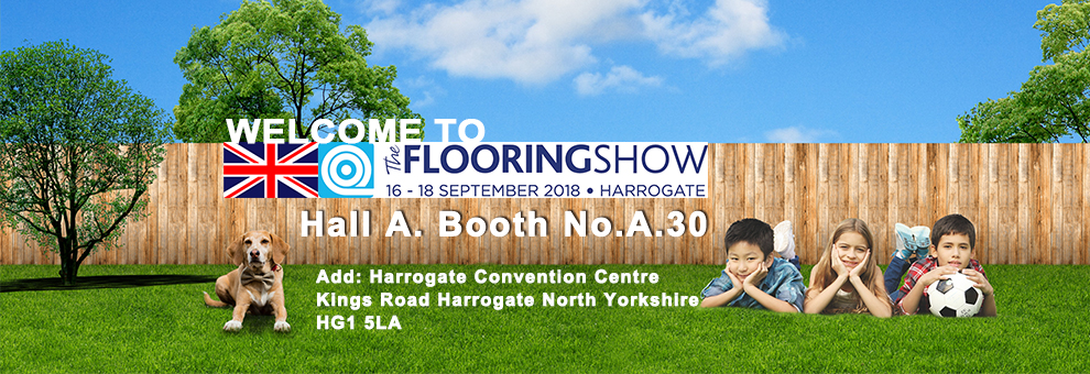 Invitation of UK's National Flooring Show and 12th Int'l Garden Expo Tokyo in 2018